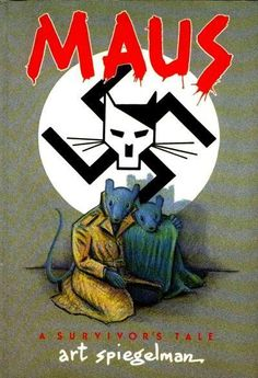 Maus by Art Spiegelman, the first graphic novel I have ever read about such a horrific event in world history. One of the best books about the Holocaust!