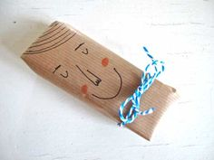 brown paper and Sharpies happy faces, wrap gifts, gift wrapping, christmas presents, bow ties, wrapping gifts, diy gifts, fathers day gifts, handmade gifts