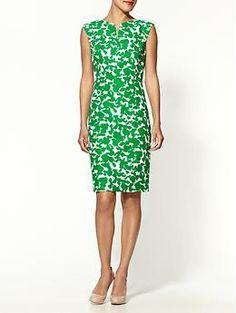 Notch neckline BatikPrint Dress