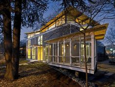 LEED Platinum RainShine House