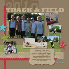 #scrapbook layout --  Now I want to use real rick rack on my Christmas cards and holiday layouts