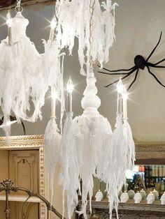 Spooky chandeliers one for @Helen England
