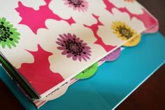 Binders and Dividers Save Time and Organize Bills - 150 Dollar Store Organizing Ideas and Projects for the Entire Home