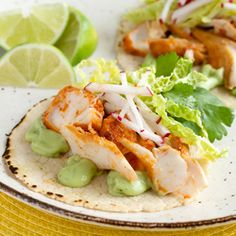 ... pan-fried chipotle-lime whitefish with a creamy avocado-yogurt sauce