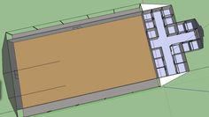 horse barn design-put the barn on the south end of the arena so it's insulated from the north winds in the winter
