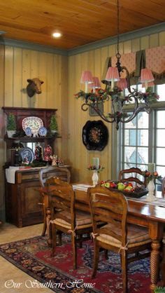 Our Southern Home - #Christmas tour.  Kitchen