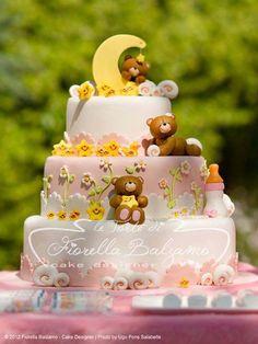Teddy Bears & The Moon Themed Cake