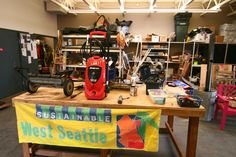 West Seattle Tool Library Workshop Apr. 4th, 6:30. Sustainable Seattle's First Neighborhood Workshop in the series.