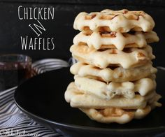 ~Chicken IN Waffles!