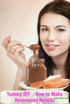 Yummy DIY – The Easiest Homemade Nutella Recipe