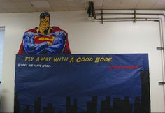 """Classroom Superhero- """"Fly away with a great book"""""""