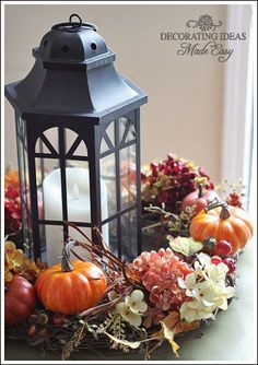 Fall Table Centerpiece by JenniferDecorates on Etsy