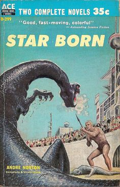many a midnight hour passed as I read these cheap used SF -- I consider Andre Norton the master of 1950s-60s underdog/outsider SF