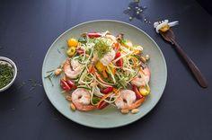 Shrimp and Green Papaya Salad on Munchery