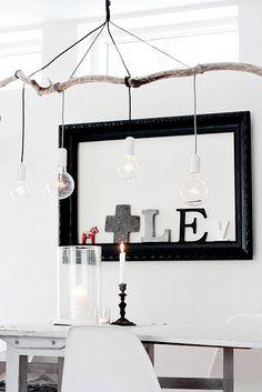 mucho reciclaje: Otra idea de lámpara