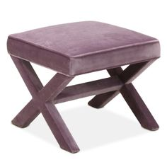 Modern Furniture | Upholstered X-Bench | $645
