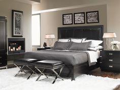 masterbedroom furniture | Master bedroom Black Furniture, Grey Walls | Great Decorating Ideas