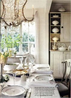 interior design, dining rooms, dine room, swedish interiors, light fixtures, country decor, french country, swedish style, swedish decor