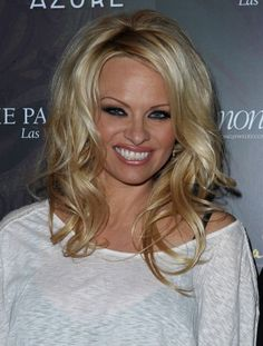 Pamela Anderson: Big sexy hair posterchild