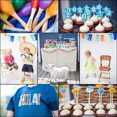 themed birthday parties, fiesta parti, theme parties, birthdays, fiestas, mayo parti, parti idea, kid parties, cinco de mayo