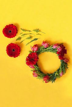 Try this DIY flower crown!
