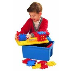 Little Tikes Wee Waffle Blocks 'N Bucket
