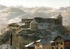 Bosnian castle ~Tesanj