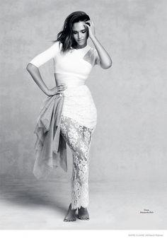 Jessica Alba For Marie Claire UK