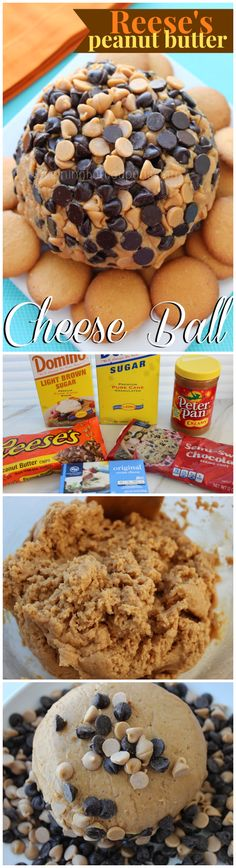 Reese's Peanut Butter Cheese Ball OMG its heavenly!!
