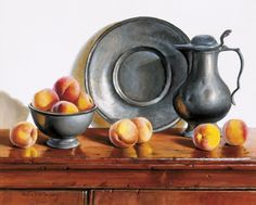 Pauline Eble Campanelli - Peaches And Pewter