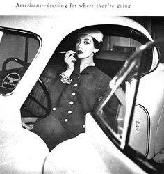 Dovima, 1956