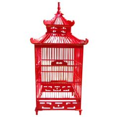 Chinoiserie Decorative Birdcage