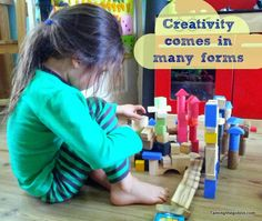 Taming the Goblin: The Sunday Parenting Party - Creative kids
