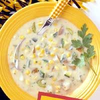 Vegetable Chowder ♥ Midwest Living