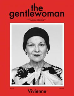 "The Gentlewoman (Netherlands) - This should be on my typography board. The way ""the"" nestles with ""gentlewoman"" makes my brain warm and fuzzy!"