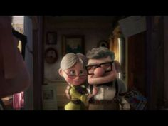 from Pixar's UP ~ The story of Carl and Ellie ~ some things do not need words!
