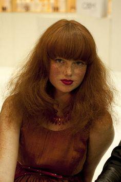 red hair -n- frecks <3