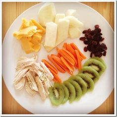 Easy toddler lunches. I need to get away from the same old stuff...just need to sub out choking hazards like nuts and grapes for now.