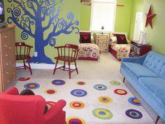 Kids room walls :))