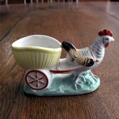 Vintage German Chicken Egg Cup