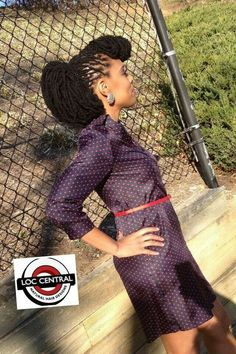 Retro hairstyl galleri, natur hair, black beauti, the dress, natur beauti, hair style, loc style, loc ponytail, dreadlock hair