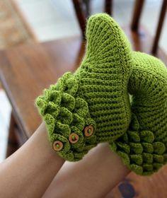 Crocodile Stitch Boots Duo - Adult/Baby