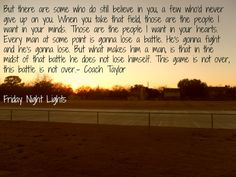 Friday Night Lights #favorite most likely going to rewatch this after I finish Parenthood on Netflix.