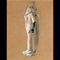 Felix Nussbaum-Skeleton with Clarinet 2 clarinet