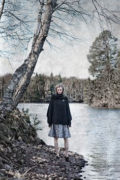 Hedvig Palm by Carl Bengtsson for Nygårds Anna Campaign, fall 2012