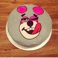 Take a look at this cake inspired by the iconic performance from Miley Cyrus in the 2013 VMAs.
