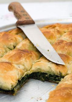 Chicken and Spinach Pie