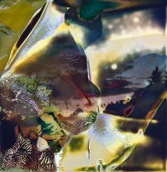 polaroid pinhole chemigram #2