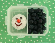 donut snowman snack by anotherlunch.com, via Flickr