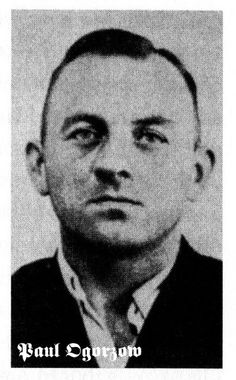 """Paul Ogorzow (29 September 1912 – 26 July 1941), also known as the """"S-Bahn murderer"""", was a Berlin-based serial killer and rapist in Nazi Germany, responsible for several deaths and attempted murders during a ten-month period between September 1940 and July 1941, when he was finally apprehended and executed at Plötzensee prison."""